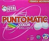 Puntomatic Detergente en Pastilla Ropa Color - 24 Lavados