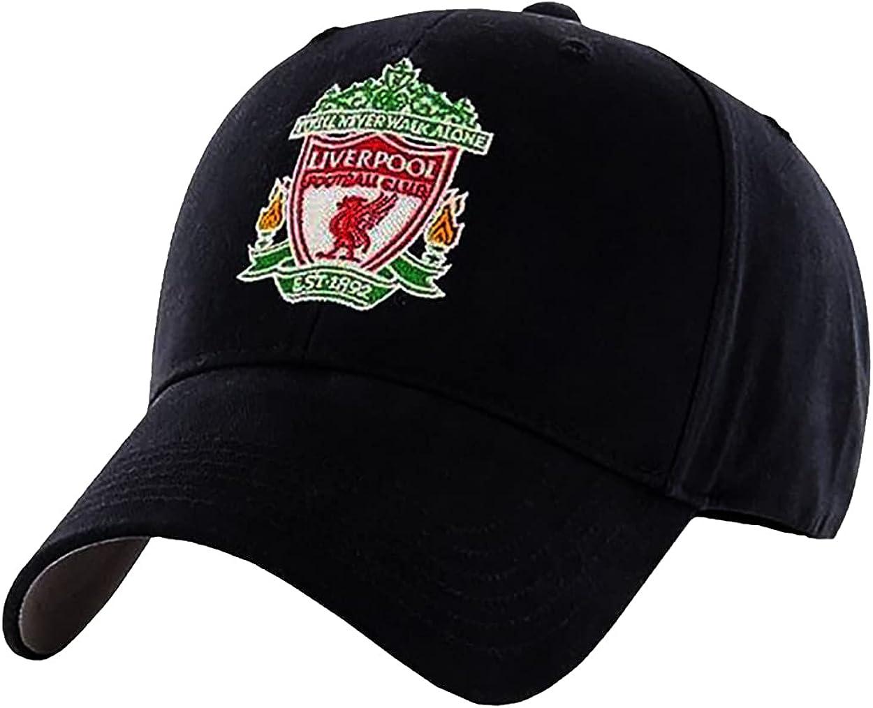 Al sold out. Award Liverpool FC Black Crest Cap EPL Merchandise Authentic -