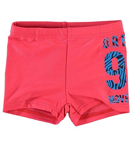NAME IT MINI zwembroek voor jongens Zhark, maat: 62/68; kleur: bittersweet
