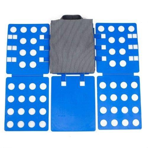 Gifts 4 All Occasions Limited SHATCHI - Portabiancheria per magliette, facile e veloce, per bambini e adulti, colore: blu regolabile