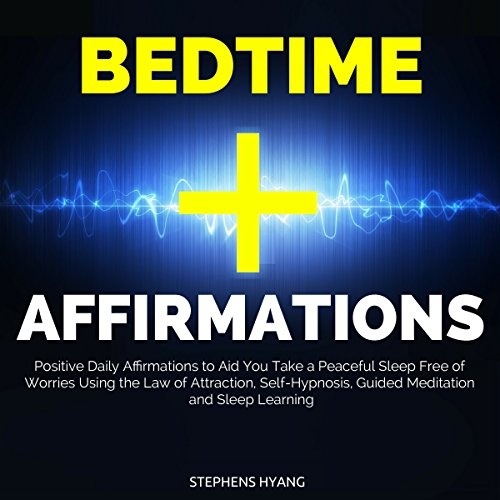 Bedtime Affirmations audiobook cover art