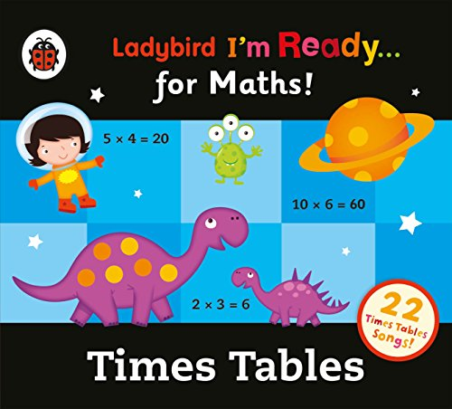 Ladybird Times Tables Audio Collection: I'm Ready for Maths audiobook cover art