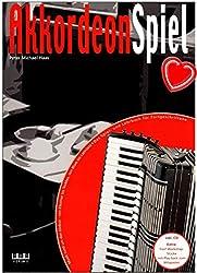 Jeu d\'accordéon - Volume 2 - Première école d\'accordéon pour confirmé par Peter Michael Haas - Livre de partitions avec CD et Peter Michael Haas 610302 4018262103021