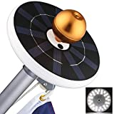Solar Flag Pole Lights 32 LED Solar Powered Flagpole Lighting Night Light Kit