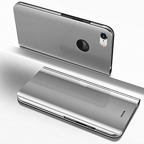 EUWLY Compatible avec iPhone 6/6S Coque à Rabat Magnétique Housse de Protection avec Motif Flip Wallet Case avec Porte-Cartes