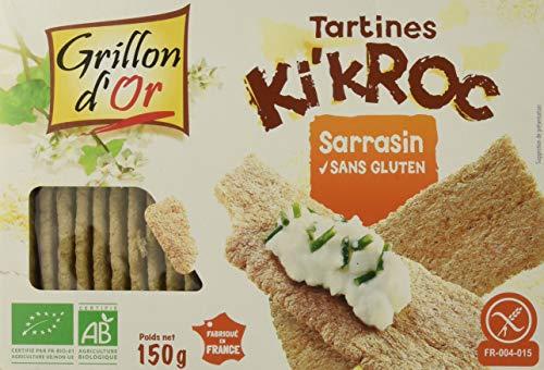 Grillon d'or Tartine Ki'Kroc au Sarrasin 150 g