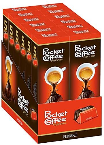 Pocket Coffee , 12er Pack (12 x 5 Stück Packung)