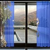 JOCHUAN Cortinas Transparentes Acuario Peces Caballitos de mar Caballitos de mar es un género de Cortinas de Paneles Transparentes SMA Juego de 2 Paneles para la Sala de Estar del Dormitorio