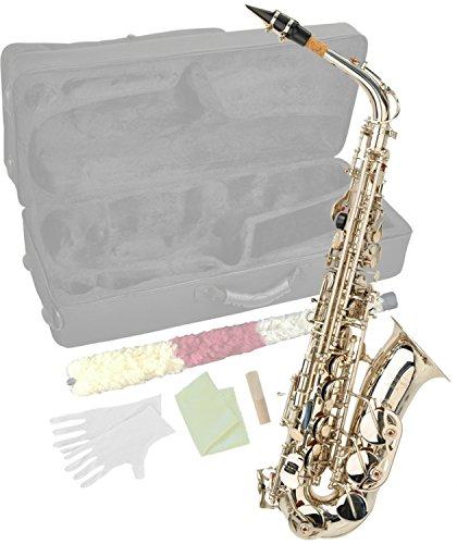 Steinbach Eb Alt-Saxophon in Silber mit hohem FIS