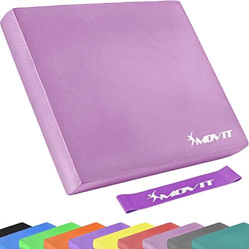 Movit® Balance Pad Sitzkissen pink mit Elastic Tapes