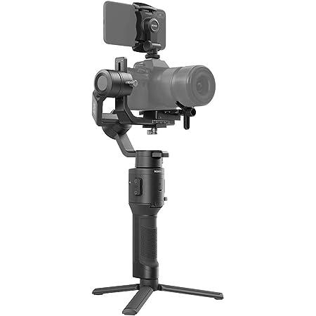 DJI Ronin-SC Gimbal, Einhandgimbal für spiegellose Kamerasysteme, Ungehinderte Rollachse, 11 Stunden Akkulaufzeit, Kompatibel mit Sony, Panasonic, Lumix, Nikon und Canon Kameras