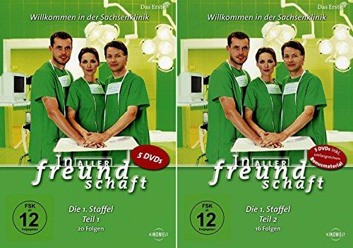 In aller Freundschaft - Staffel 1 Komplett (Teil 1.1+1.2) * DVD Set