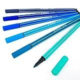 Stabilo PEN 68 - Rotuladores de punta de fibra (6 colores, 6 colores)