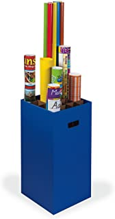 """Classroom Keepers Poster & Roll Storage, Blue, 24""""H x 12-1/4""""W x 12-1/4""""D, 1 Piece"""