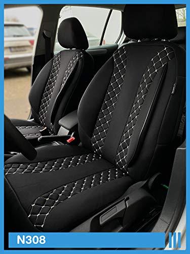 AUDI q3 misura rivestimenti coprisedili conducente /& passeggero g101