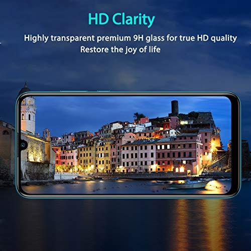 ONKING Folie für Huawei Mate 20 Panzerglas, AGC Glas HD Schutzfolie [2 Pack] Anti Kratzer Displayschutzfolie für Huawei Mate 20 Panzerglas Schutzglas Clear - 3
