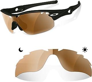 sunglasses restorer Lentes Fotocromaticas Polarizadas Marron 30-45% de Recambio para Oakley Radarlock Ventilada