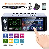 Single Din Car Stereo 4.1 Inch Touch Screen Radio Car MP5 Player Bluetooth