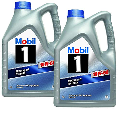 Mobil 1 Motorsport Formula 10W-60 motorolie, verpakking 10 liter