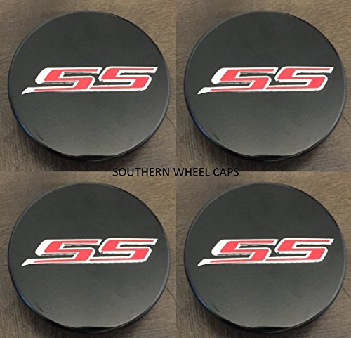 4pcs SET 2016-2018 Chevy Camaro Center Wheel hub Caps Set of 4 BLACK 19351757 -  JDM WORLD