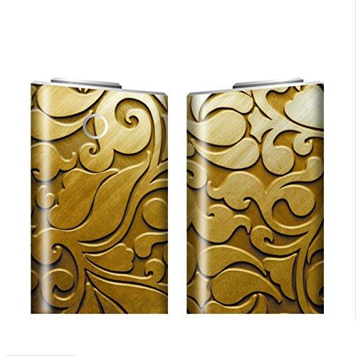 グローシール glo グロー シール glo グロー専用 スキンシール 電子タバコ ステッカー 06 メタル METAL 01-gl0044