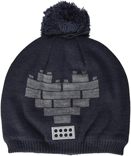 Lego Wear - Chapeau - Bébé (Fille) Gris Gris (Dark Grey 965)