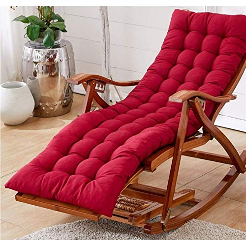 Alvnd Zero Gravity Lounge Chair Garden Recliner Chairs,Adjustable Outdoor sun loungerss With Cushion Rocking Folding Chair Bamboo Lounge Chair For Patio Or Beach Beach, Balcony, Park Or Campsite