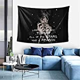 Lil Peep Tapestry, Rapper Tapestry Wall Tapestrys Boutique Art Pop Art Home Decorations Hanging Tapestries Wall Blanket Wall Art for Living Room Bedroom Dorm Decor 60x40in
