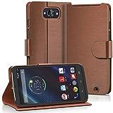 VENA Motorola Droid Turbo Wallet Case [vSuit] Slim Fit Leather Case with Stand...