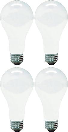 GE Lighting 10429 150-Watt A21 Light, Soft White (Pack of 4)