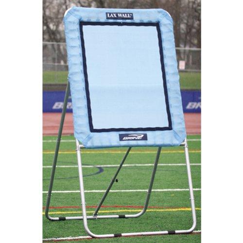 Brine Lacrosse Lax Rebound Self Standing Wall Ball System (3 x 4-Feet, Carolina Blue)