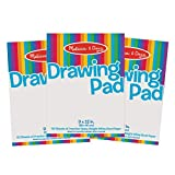 Melissa and Doug Drawing Paper Pad Bundle, Multi Color (Pack of 3) watercolor pencils Apr, 2021
