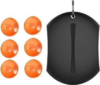 SEIMOO 1Set halkskydd öronkuddar kopp öronsnäckor täcker silikonskyddshölje öronproppar i öronskydd anti-shedding hörlurss...