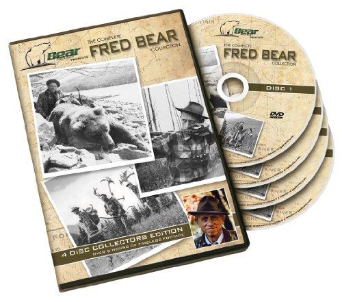 Bear Archery Fred Bear DVD-Kollektion, Mehrfarbig