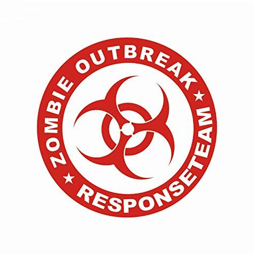 Zombie Outbreak Response Team Rot Resident Evil Auto Aufkleber Decal