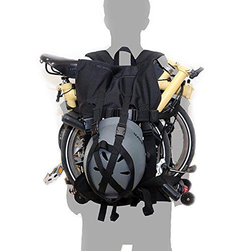Levantamiento mochila para Brompton por bluesprite, bolsa para bicicletas