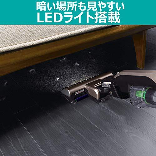 日立掃除機スティッククリーナーシャンパンゴールドPV-BE700N