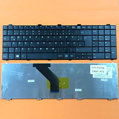 kompatibel für Fujitsu Siemens LifeBook A512 Tastatur - Farbe: Schwarz - Deutsches Tastaturlayout