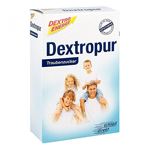 Dextro Energy Dextropur Traubenzucker Pulver, 400 g Pulver