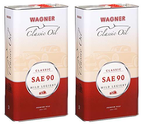 2X Wagner SPEZIALSCHMIERSTOFFE Getriebeöl Oldtimer-Getriebeöl SAE 90 5 L Liter