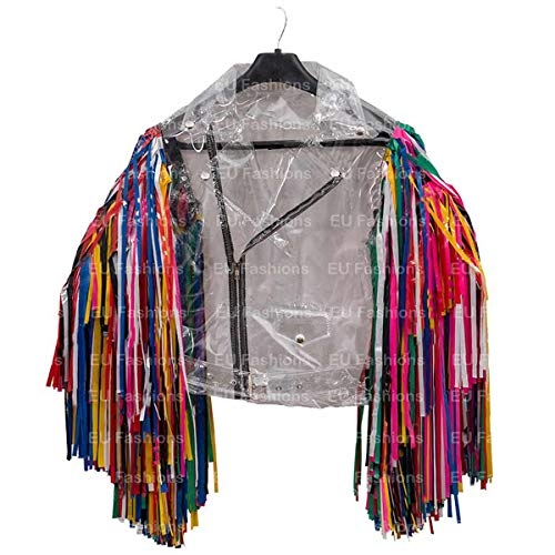 EU Fashions Birds of Prey Harley Quinn Jacke Gr. 36, PVC-Material