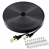Cat 7 Ethernet Cable 50 FT, BUSOHE High Speed Shielded...