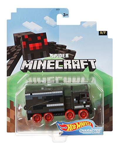 Hot Wheels 2020 Minecraft Gaming 1/64 Character Cars -Spider Vehicle (5/7)