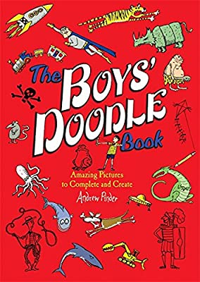 Boredom buster! Grab a copy of The Boys' Doodle Book to keep in happily occupied.