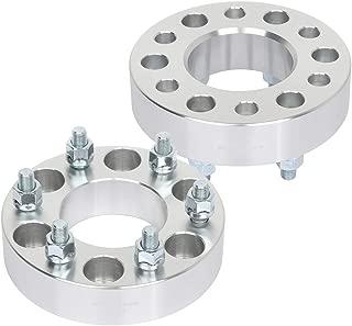 cciyu 4set 1.5 108 6x5.5 to 6x135 14x1.5 Wheel Spacers adapters fit for GMC Sierra 1500 HD Chevrolet Silverado 1500 Chevrolet C2500