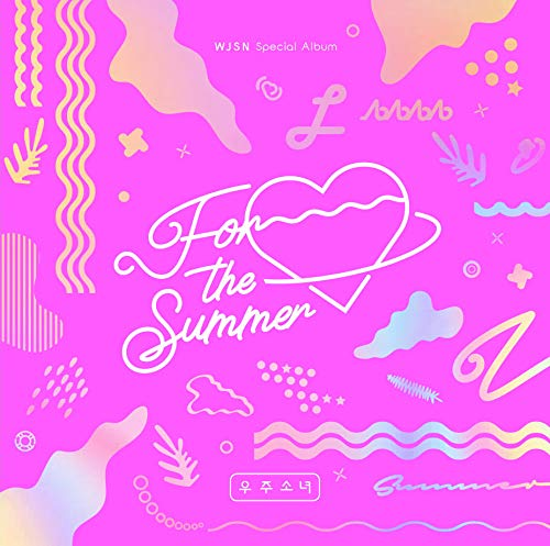 Starship WJSN Cosmic Girls - Álbum Especial para Verano (Color Rosa Ver) CD+Photobook+Photocard+Sticker+Pre-Order Benefit+Folded Poster+Double Side Extra Photocards Set
