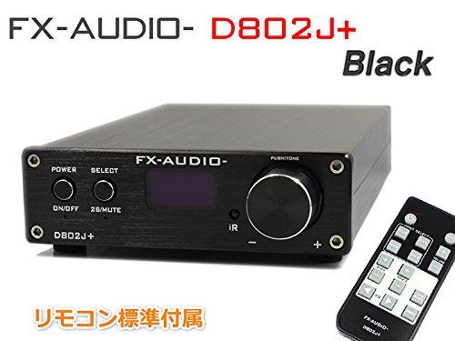 『FX-AUDIO- D802J+ [ブラック] ハイレゾ対応・3系統デジタル入力+アナログ入力 フルデジタルアンプ(リモコン付属)』の2枚目の画像