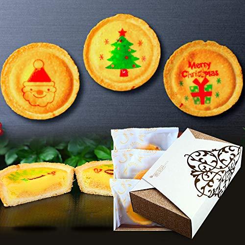 クリスマス チーズタルト 3個セット 個包装 タルト 洋菓子 お菓子 詰め合わせ スイーツ 化粧箱入り
