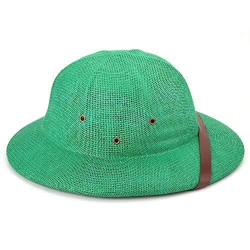 Rosvola Hut, ergonomischer haltbarer Strohhut für Erwachsene, Bequeme Mädchen Jungen für Erwachsene Teenager(Green)