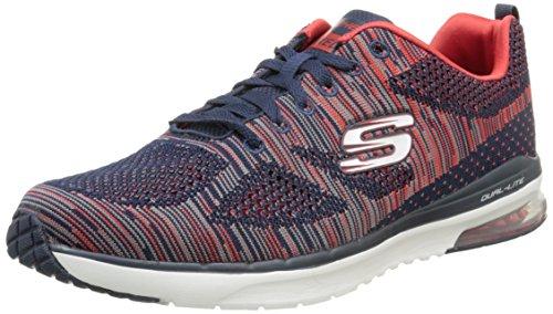 Skechers Skech-air Infinity-rapid Fire, Zapatillas de deporte Hombre, Azul (Azul (NVRD)), 41 EU